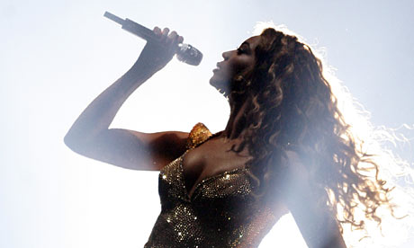 Beyonce Knowles performs at Madison Square Garden