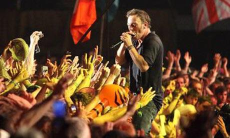 Saturday at Glastonbury 2009: Bruce Springsteen