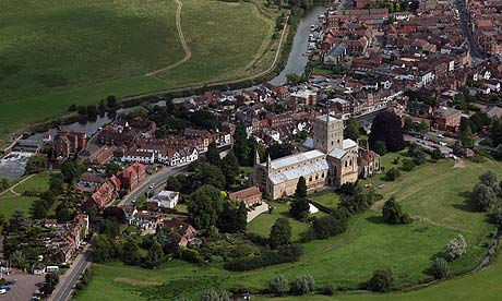 View of Tewkesbury