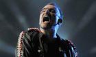 Bono of U2 in Barcelona
