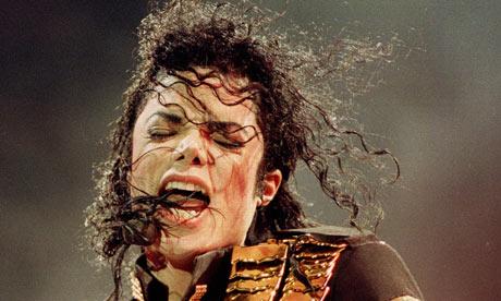 Michael Jackson on his Dangerous tour