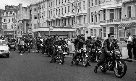 Mods and rockers descend on Hastings in 1964