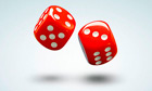 Rolling dice
