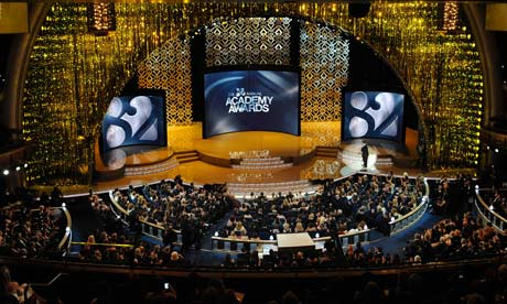 The Kodak Theatre during this year's Oscars ceremony