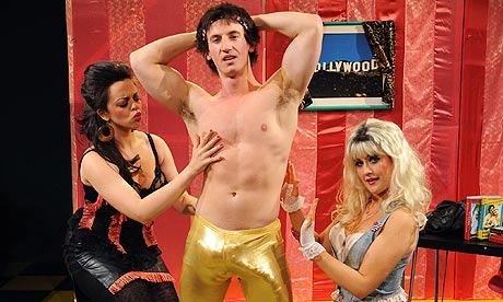 Jody Peach, Alain Terzoli and Sophia Thierens in Porn the Musical.