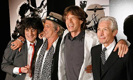 'We're just not ready' … Keith Richards on the Rolling Stones' 50th anniversary tour. Photograph: Lucas Jackson/Reuters