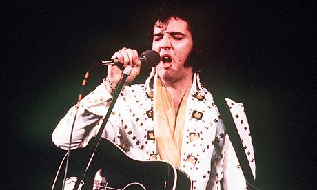 Elvis Presley in 1973
