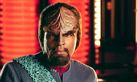 Klingon from Star Trek