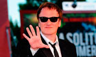 Quentin Tarantino at the Venice film festival 2010