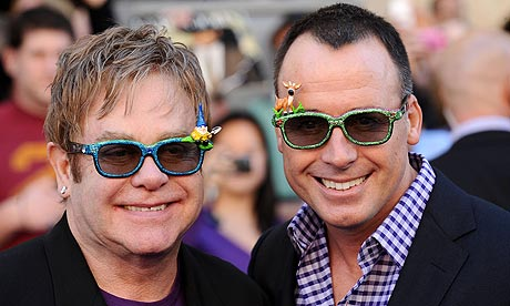 from Neil elton john and gay marriage