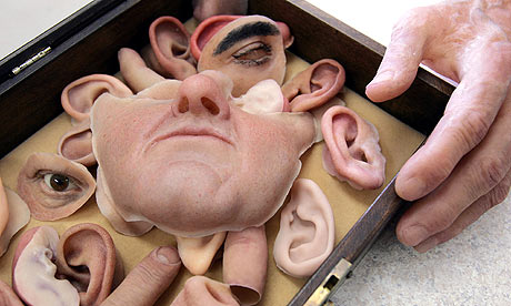 Prosthetic facial parts