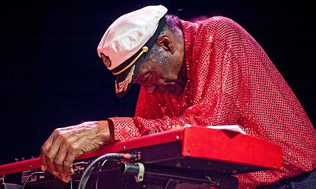 Chuck Berry in concert on 1 January 2011