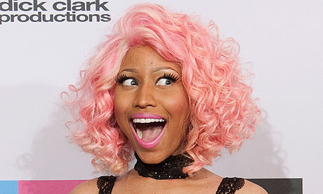 Nicky Minaj at the American Music awards 2011.