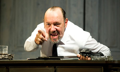 Kevin Spacey in the Old Vic's Richard III, which he's taken to the Niemeyer arts centre in Spain.