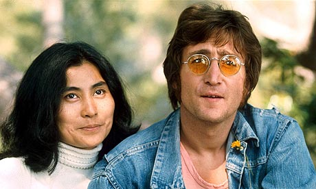 John Lennon and Yoko Ono in 1971