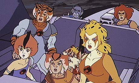 Thunder Cats Cartoon on Pussy Power     Do You Want To Thundercats On The Big Screen