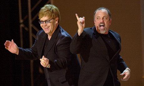 Joel Elton Elton John Claims Billy Joel