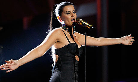 Nelly Furtado at the Latin Grammys 2010