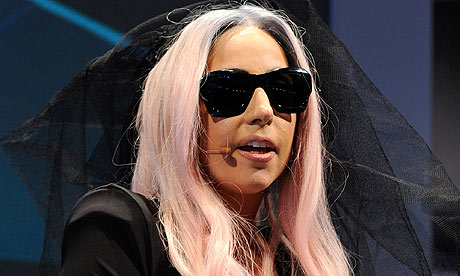 Lady Gaga in January 2011. Photograph: Ethan Miller/Getty Images