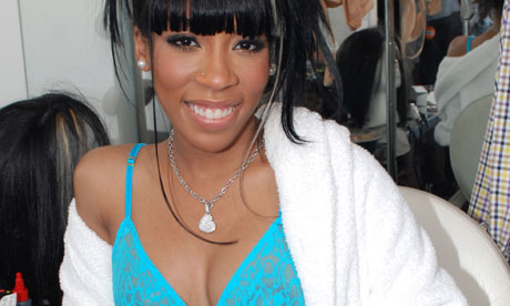 Forget the Weeknd  K Michelle, signed to R Kelly's label, is