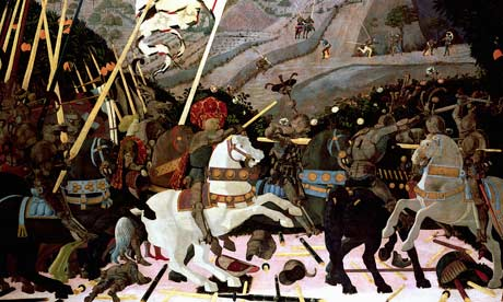 uccello battle of san romano. The Battle of San Romano by