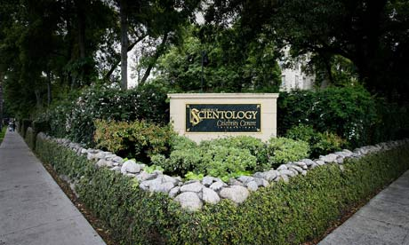 The exterior of the Church of Scientology Celebrity Centre