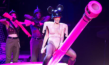 Rihanna at Madison Square Garden in New York