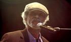Rebel without a pause ... Gil Scott-Heron performs in London last year.