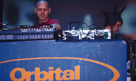 Orbital at Glastonbury 1994