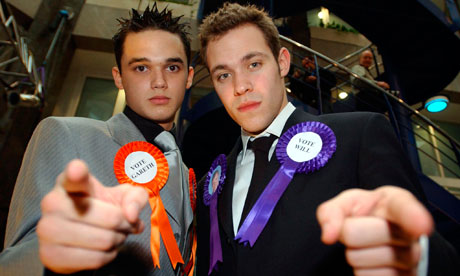 Gareth Gates and Will Young