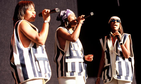 SWV (Sisters with Voices) perform at KMEL Summer Jam 1993