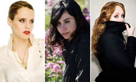 Anna Calvi, PJ Harvey and Adele