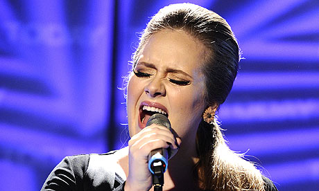 Adele performs in New York in 2011