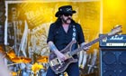 Lemmy from Motorhead playing at Bloodstock