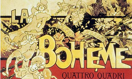 Score cover for Puccini 's La Boheme