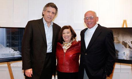 Thomas Hampson, Rick Rescorla's widow, Susan, and Dan Hill