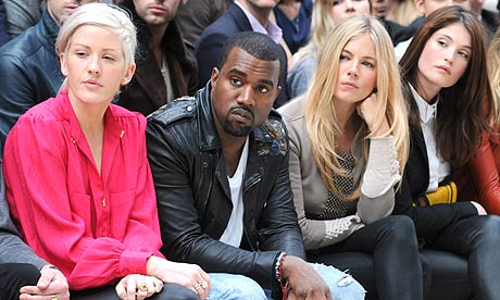 Kanye West at London Fashion Week 2011