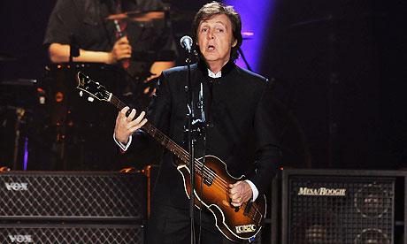 Paul McCartney in 2011