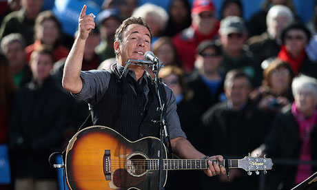Bruce Springsteen in 2012