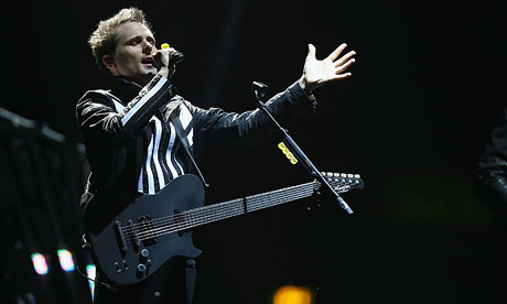 Matt Bellamy of Muse in 2012