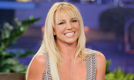 Britney Spears in October 2012