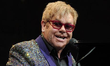 Elton John in 2012