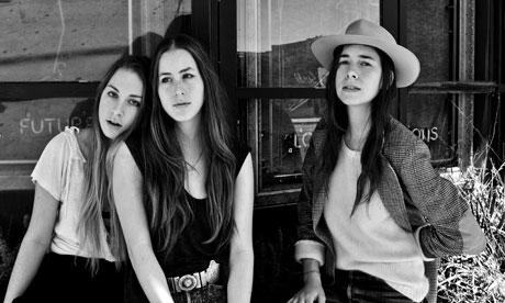 Sister act … Haim