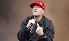 Fred Durst of Limp Bizkit in 2011