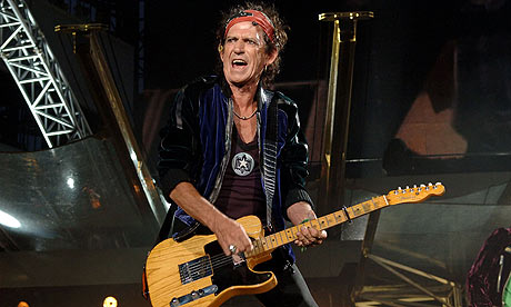 Keith Richards of the Rolling Stones in 2006