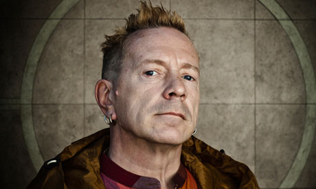 76 minutes with … John Lydon The former Sex Pistols frontman on singing through Cilla Black's tights, modern-day anarchy and maintaining marital bliss