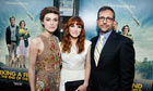 Keira Knightley, Lorene Scafaria and Steve Carell