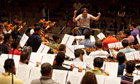 Dudamel conducts the Simon Bolivar Symphony Orchestra