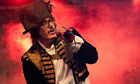 Adam Ant performs at Apple Cart festival 2012
