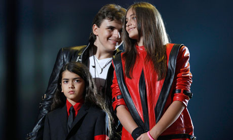 Michael Jackson's children Blanket, Prince and Paris